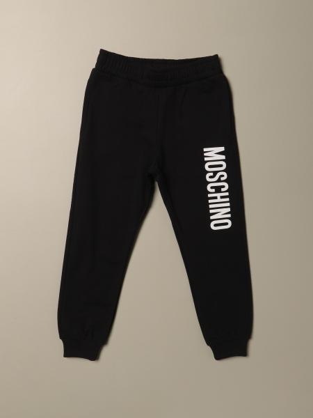 Moschino Kid jogging trousers with logo
