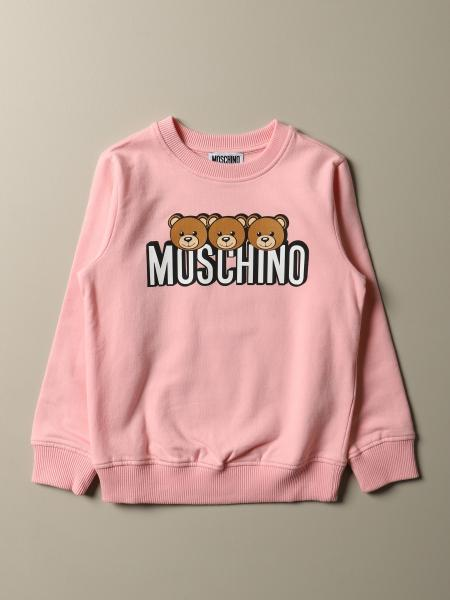 Moschino Kid sweatshirt with Teddy logo