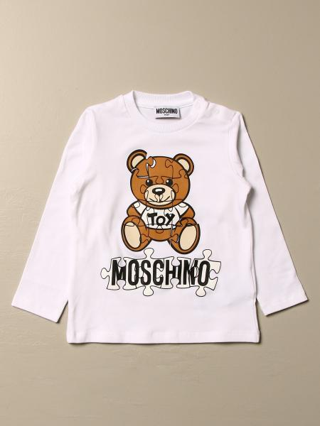 Moschino Baby Teddy puzzle 上衣