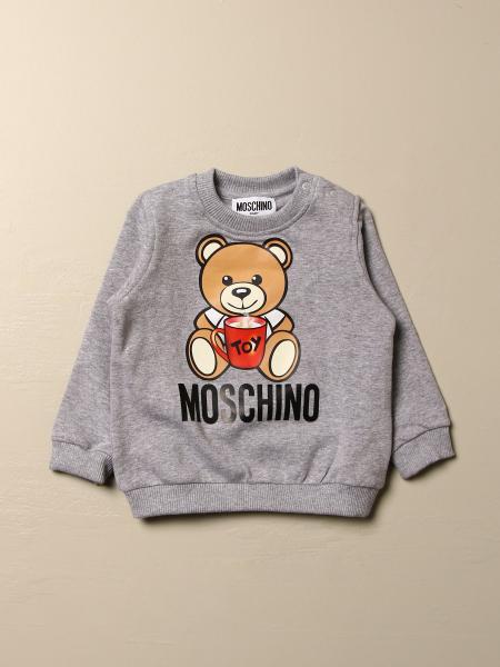 Moschino Baby sweatshirt with Teddy toy