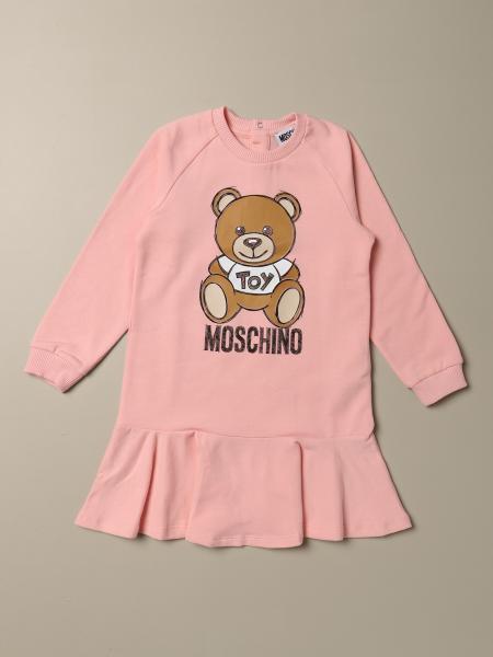 Moschino Baby Teddy Toy Logo 连衣裙