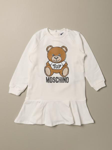 Robe Moschino Baby avec logo Teddy Toy