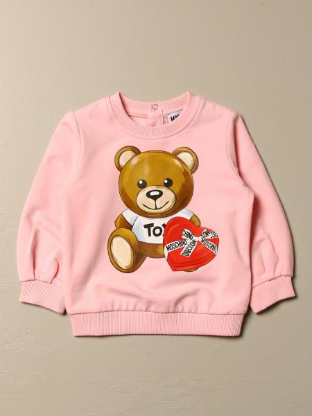 Moschino Baby sweater with Teddy heart