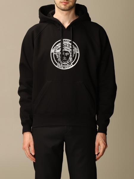 Versace hooded sweatshirt with Medusa logo