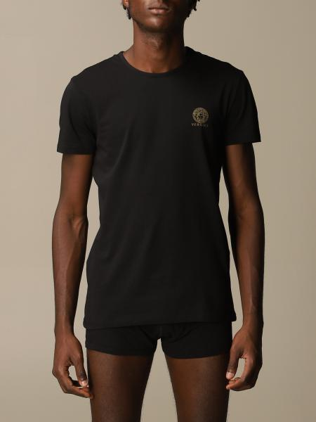 Versace T-shirt with mini medusa logo