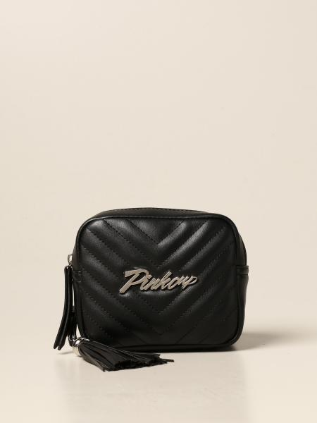 Pinko kids: Pinko belt bag in synthetic leather with logo