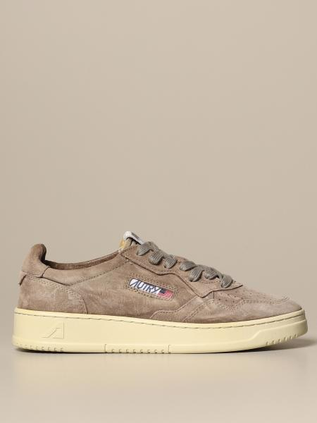 Autry: Autry sneakers in suede with logo