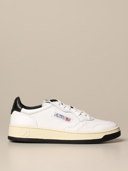 Autry: Sneakers Autry in pelle con contrasti