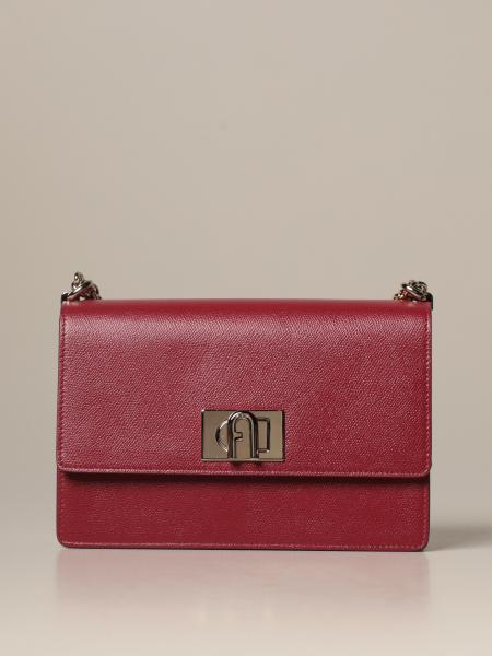 1927 Furla crossbody Bag in grained leather
