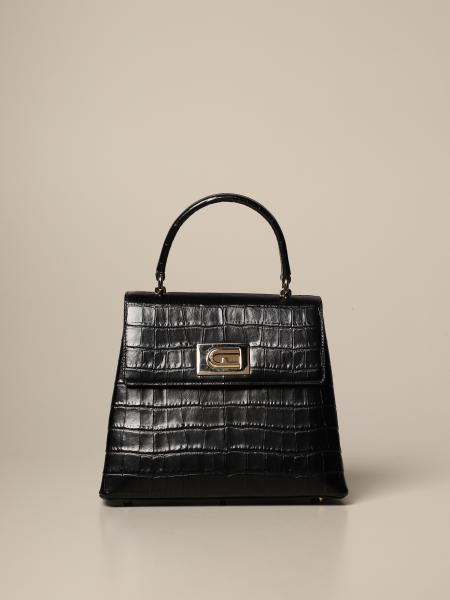 1927 Furla bag in crocodile print leather