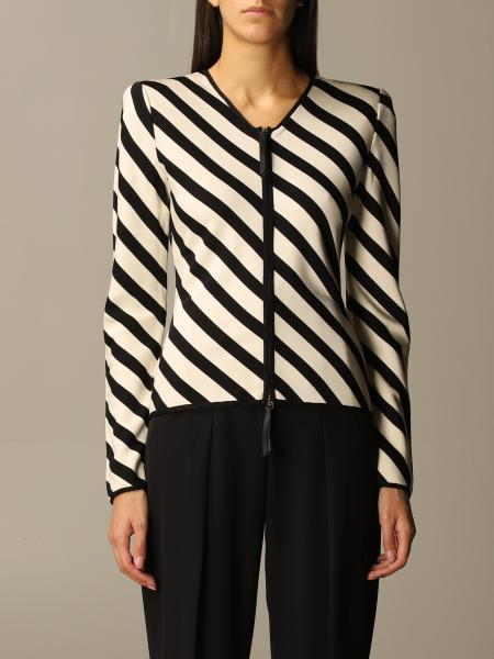 Giorgio Armani: Giorgio Armani two-tone striped jacket