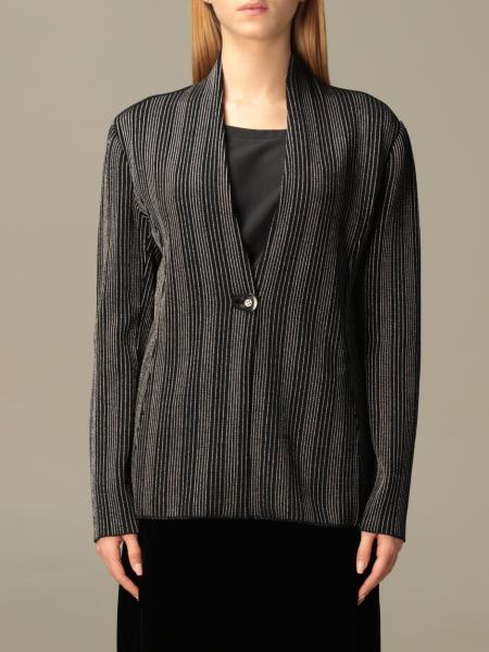 Giorgio Armani: Giorgio Armani jacket in striped ottoman fabric