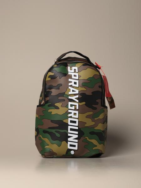 Bodyguard Sprayground backpack in camouflage rubber