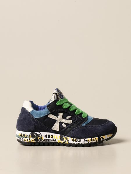 Zac-zac Premiata sneakers in suede and nylon