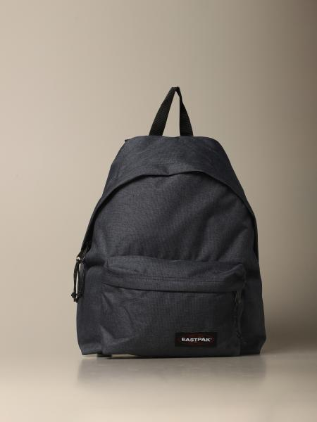 Eastpak: Zaino Padded pak'r Eastpak in nylon effetto denim