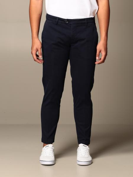 Xc: Pantalone Rudolph XC in raso stretch slim fit