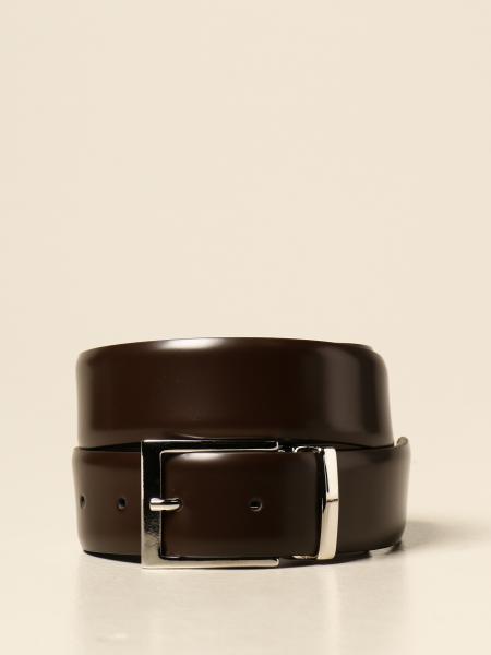 Cintura XC in pelle spazzolata