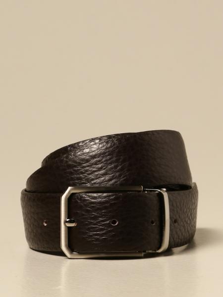 Cintura XC in pelle martellata reversibile