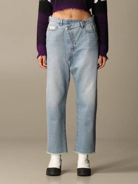 牛仔裤 女士 Gcds