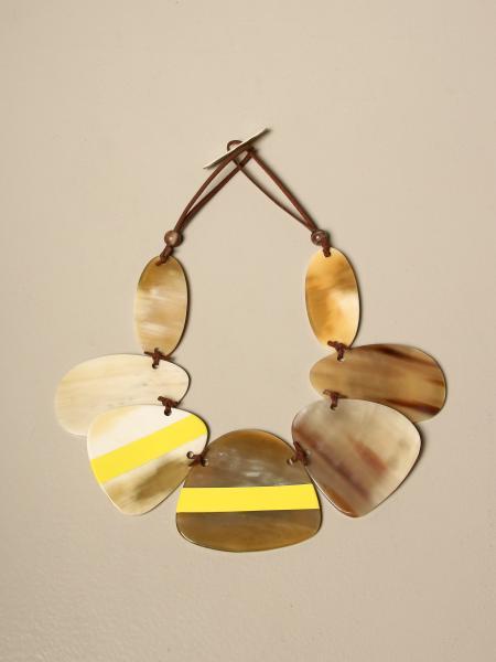 Allujewels: Horn petals necklace Allu 'jewels