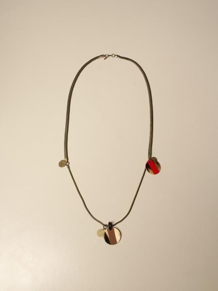 Allujewels: Snake Bronze Allu 'jewels necklace with pendant