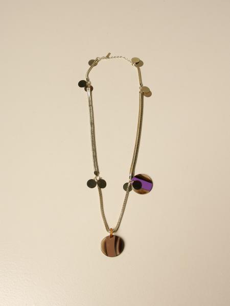 Allujewels: Snake gold necklace Allu 'jewels with pendant