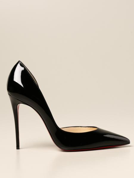 Christian Louboutin women: Iriza Christian Louboutin décolleté in patent leather