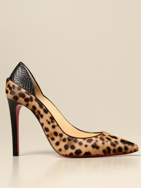 Christian Louboutin women: Christian Louboutin Maastricht pumps in animalier pony skin