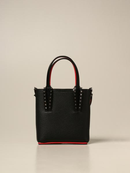 Christian Louboutin women: Christian Louboutin Cabata bag in textured leather