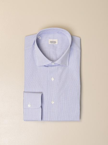 Alessandro Gherardi shirt in micro checked cotton