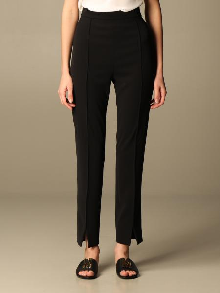 Boutique Moschino: Moschino Boutique slim cady trousers