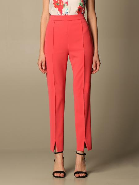 Boutique Moschino: Pantalone slim Boutique Moschino in cady