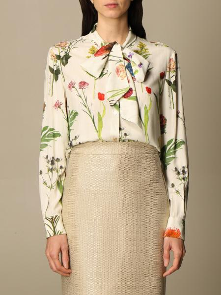 Boutique Moschino: Camicia Boutique Moschino a fantasia botanica
