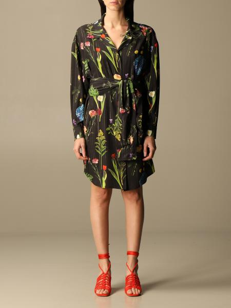 Boutique Moschino: Abito Boutique Moschino a fantasia botanica