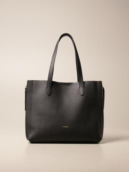 Furla: Furla Grace bag in hammered leather