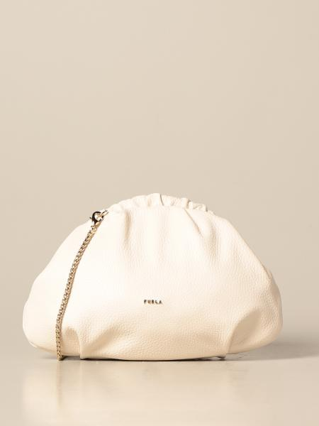 Furla: Furla Evening bag in grained leather