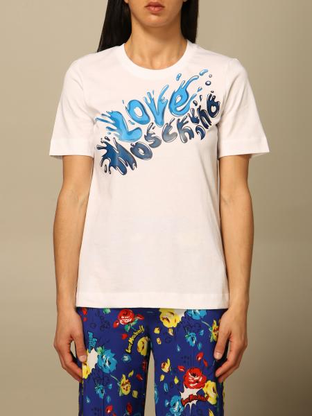 Love Moschino t-shirt in cotton with print