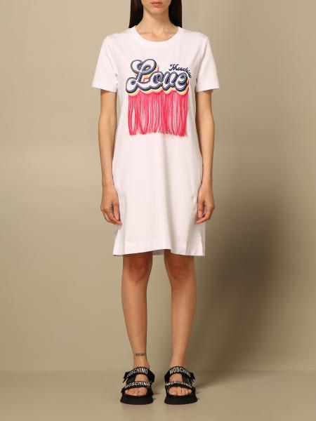 Abito a t-shirt Love Moschino con logo