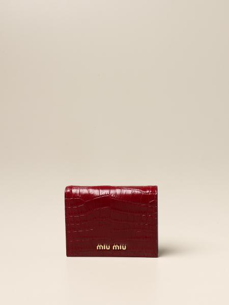 Miu Miu femme: Portefeuille femme Miu Miu