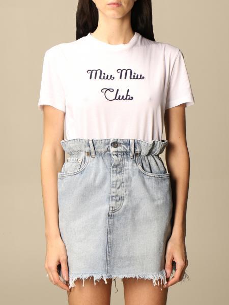 T-shirt femme Miu Miu