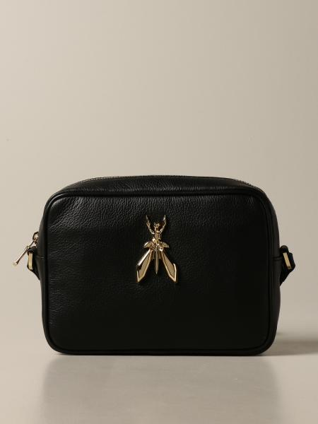 Fly Patrizia Pepe bag in textured leather with logo