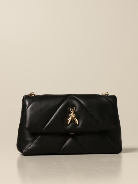 Patrizia Pepe women: Fly Patrizia Pepe bag in nappa leather with chevron pattern