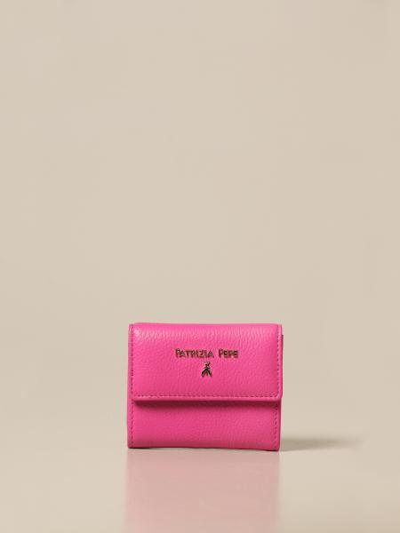 Patrizia Pepe women: Patrizia Pepe wallet in leather with logo