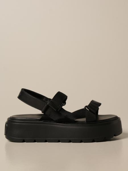 Uniqueform Valentino Garavani sandal in canvas and leather