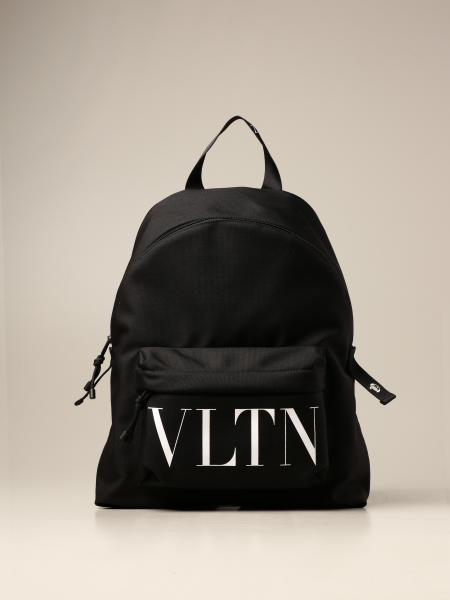 Valentino Garavani canvas backpack with VLTN logo