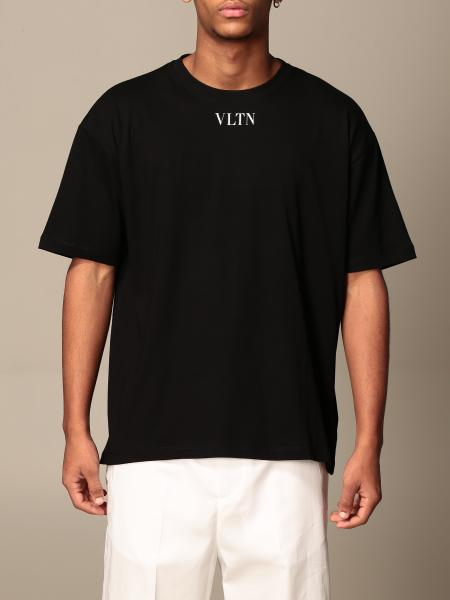 Valentino cotton T-shirt with VLTN logo