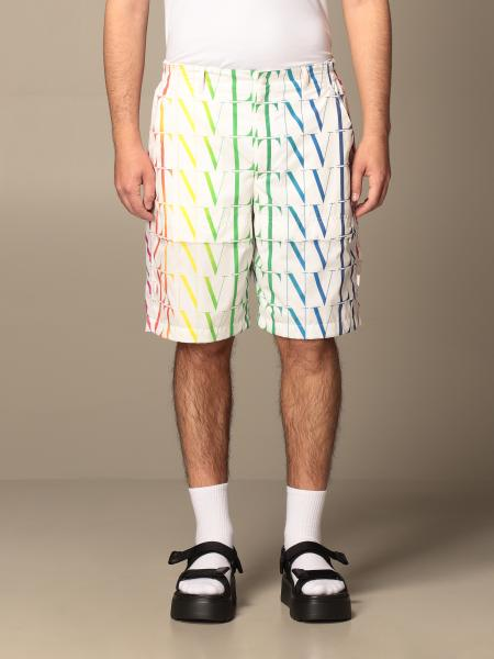 Valentino shorts with all-over VLTN logo