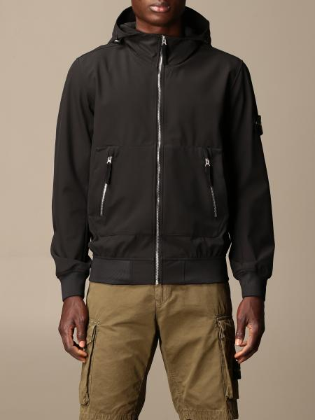 Stone Island soft shell light e-dye jacket with hood
