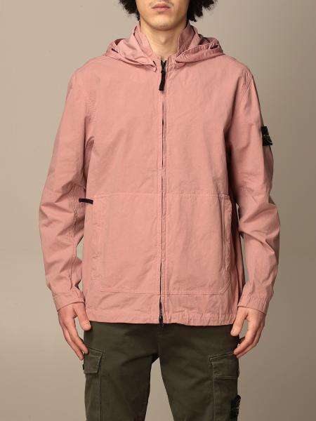 Stone Island hooded jacket in cordura cotton