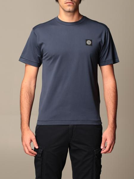 T-shirt Stone Island in cotone basic